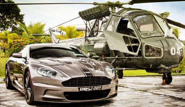 Cars aston martin dbs scout HD wallpaper
