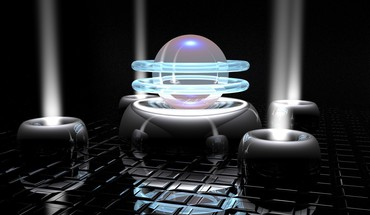 Digital art 3d light rays HD wallpaper