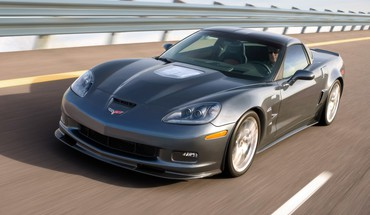 Chevrolet corvette zr1 driver front grey HD wallpaper