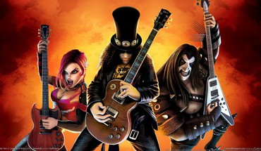 Guitar hero video games HD wallpaper