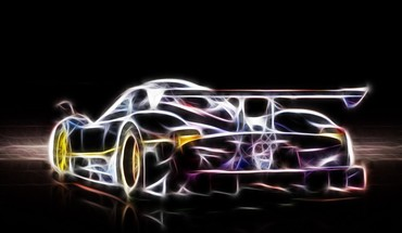 Cars fractalius Digital Art  HD wallpaper