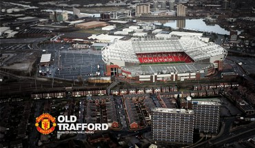 Aerial stadionas Old Trafford  HD wallpaper