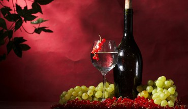 Fruits grapes wine HD wallpaper