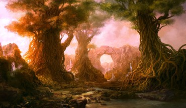 Fantasy art artwork fan arka HD wallpaper