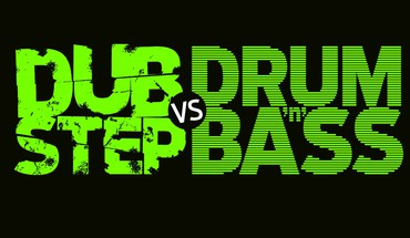 Drum and bass dubstep text typography HD wallpaper