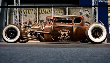 moteurs de Voitures automobile rat rod chaude  HD wallpaper