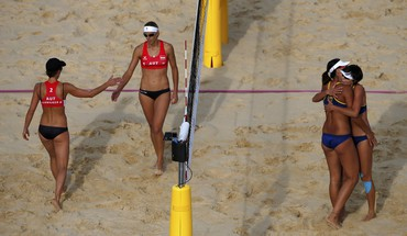 Austria volleyball chen beach doris schwaiger stefanie HD wallpaper
