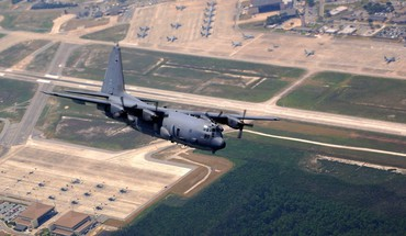 Aircraft military flying ac-130 spooky/spectre HD wallpaper