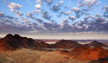 Desert view namibia africa HD wallpaper