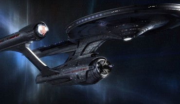 Classic enterprise star trek outer space spaceships HD wallpaper