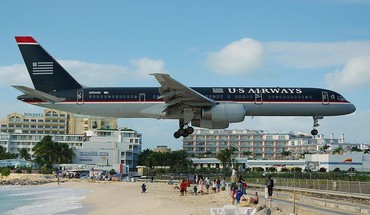 Beach aircraft caribbean princess juliana international airport saint-martin HD wallpaper