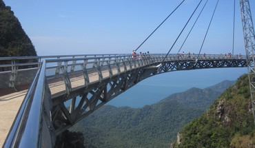 Skybridge auf Langkawi  HD wallpaper