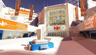 Mirrors edge buildings HD wallpaper