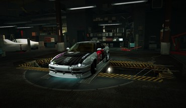 Speed world nissan 200sx s14 garage nfs HD wallpaper