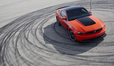 Ford Mustang Boss 302 automobiliai HD wallpaper