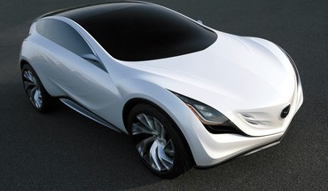 Cars mazda concept art HD wallpaper