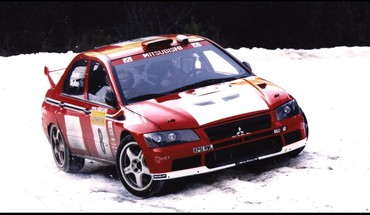 Mitsubishi lancer evolution wrc HD wallpaper