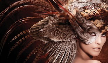 Feathers head dress HD wallpaper