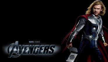 Mjolnir the avengers movie thor black background HD wallpaper