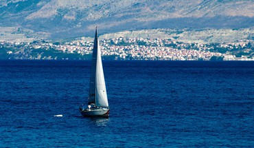 Boats croatia sailboats seascapes mediterranean sea dalmatia HD wallpaper
