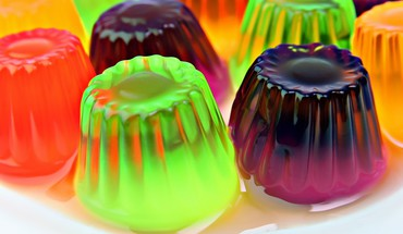 Food jelly multicolor HD wallpaper