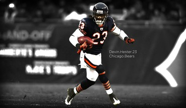 Chicago american football bears selective coloring devin hester HD wallpaper