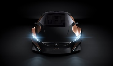 Studio Concept supercars d'art phares conçus peugeot onyx  HD wallpaper