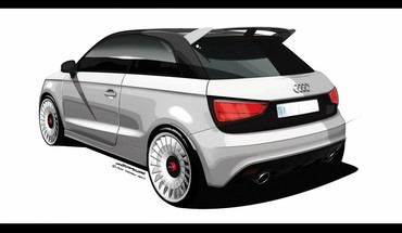 Audi a1 quattro design sketches vehicles HD wallpaper