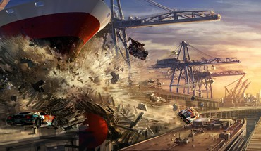 Video games destruction artwork split second HD wallpaper