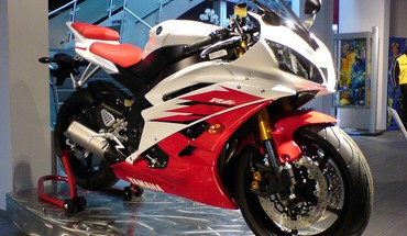 Raudona yamaha r6 2006 YZF-R6  HD wallpaper