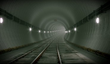 Metro subway tunnels HD wallpaper