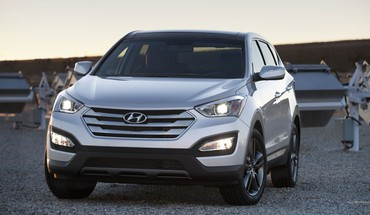 Automobiliai Hyundai Santa Fe  HD wallpaper