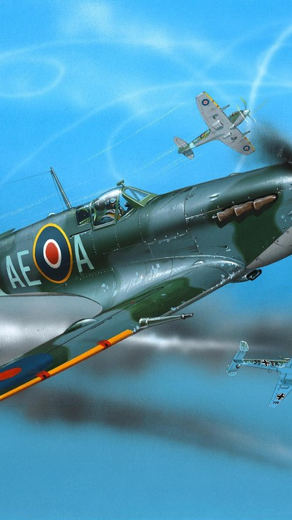 Aircraft supermarine spitfire wallpaper | AllWallpaper.in ...