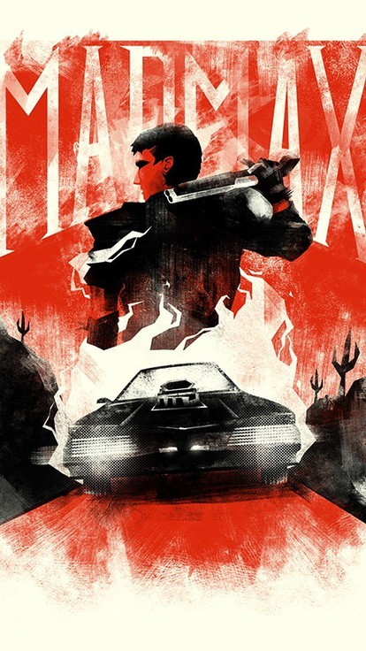 mad max mel gibson fan art movies postapocalyptic