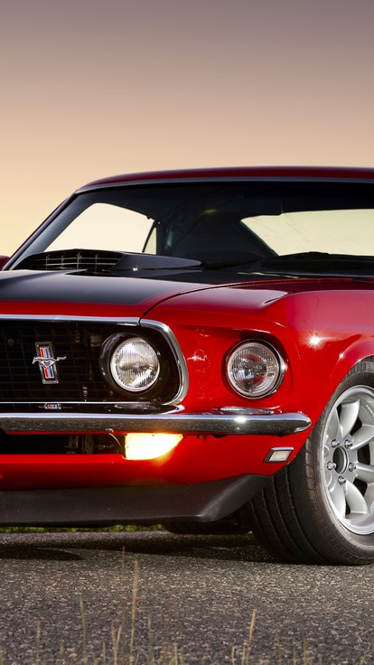 Cars Ford Mustang Boss 302 Muscle Car Wallpaper