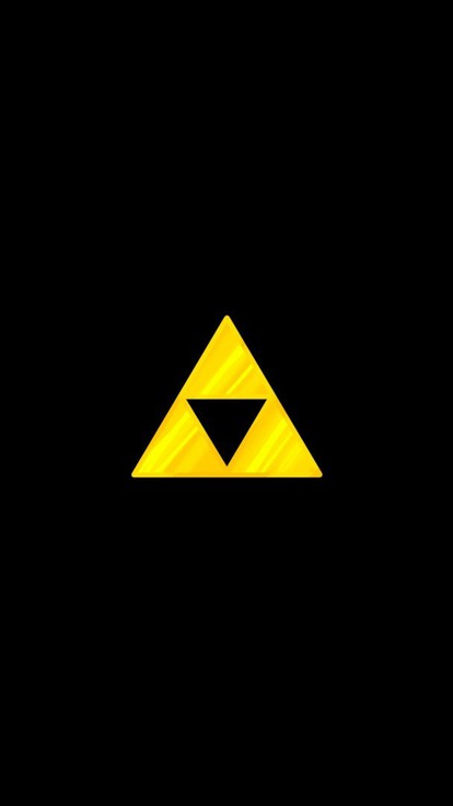 gallery for zelda triforce iphone wallpaper
