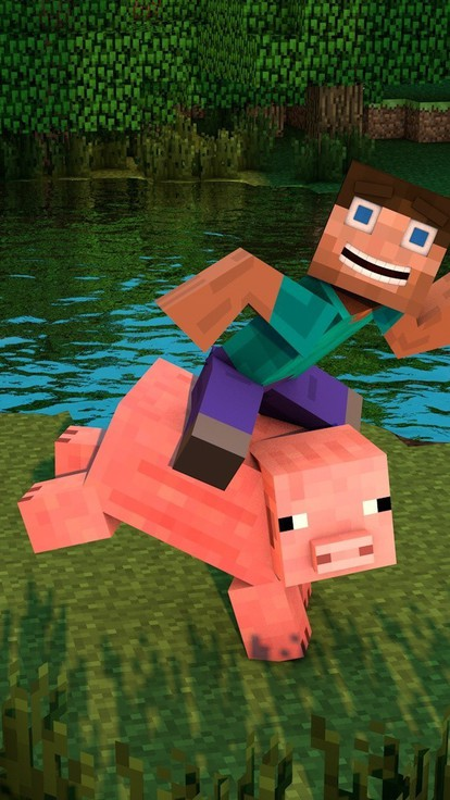 minecraft pig wallpapers download - photo #15
