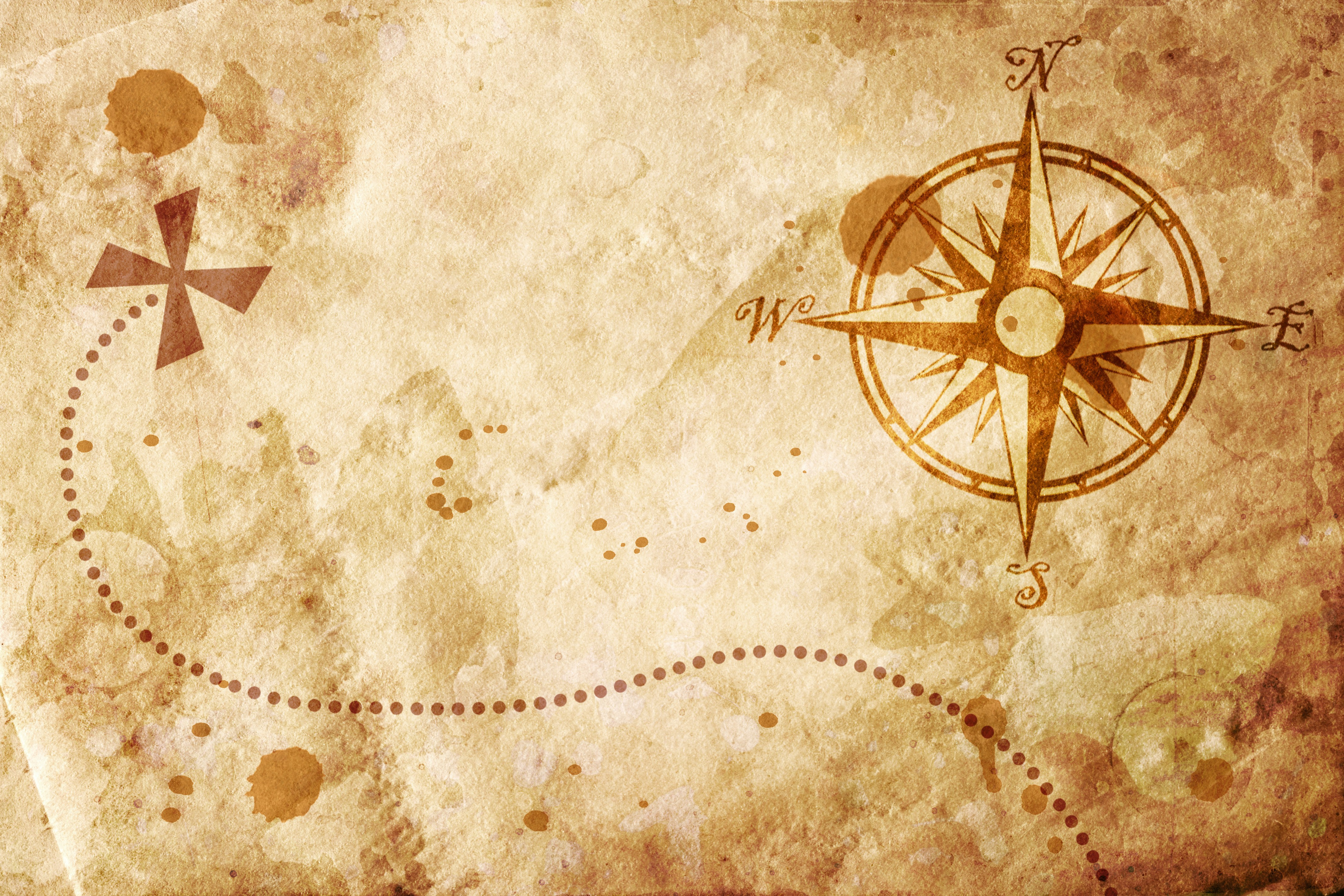 old map with a compass on it wallpaper allwallpaperin