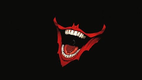 Batman minimalistic movies the joker mouth wallpaper allwallpaper how to set wallpaper voltagebd Gallery