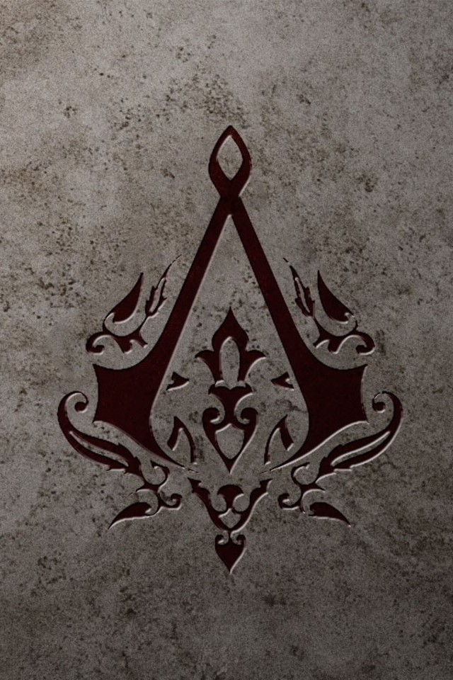 gallery for assassins creed logo wallpaper iphone