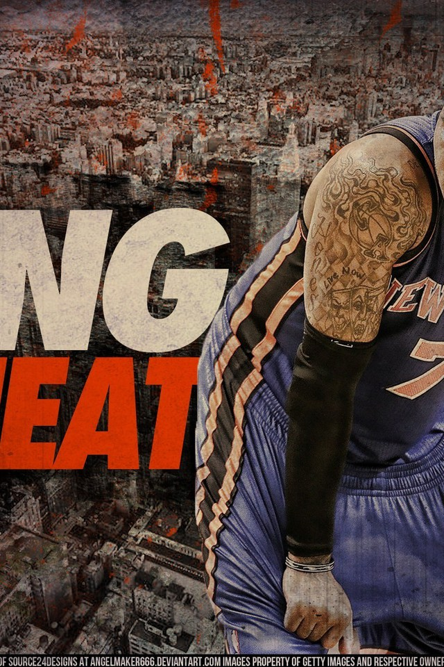 Carmelo anthony nba new york knicks wallpaper AllWallpaperin