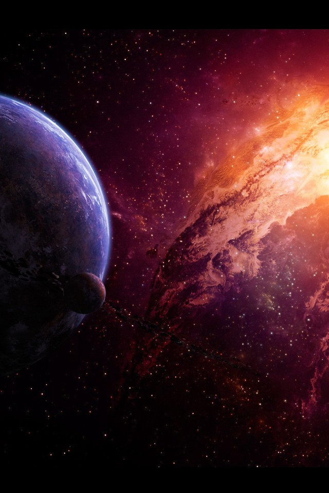 Deviantart Digital Art Nebulae Outer Space Planets Wallpaper