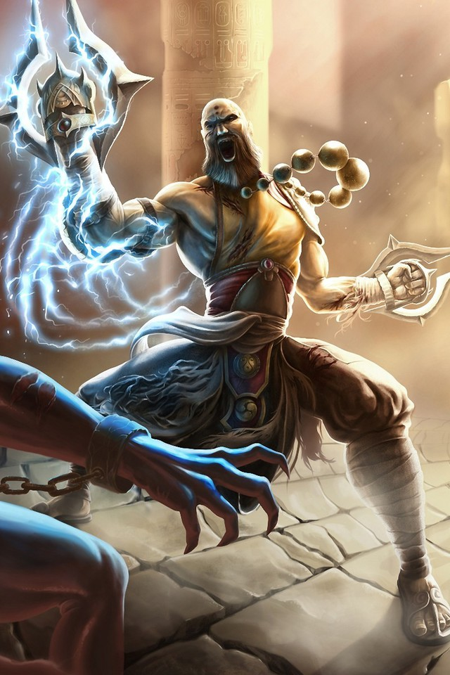 fantasy art artwork diablo iii monk shaolin wallpaper