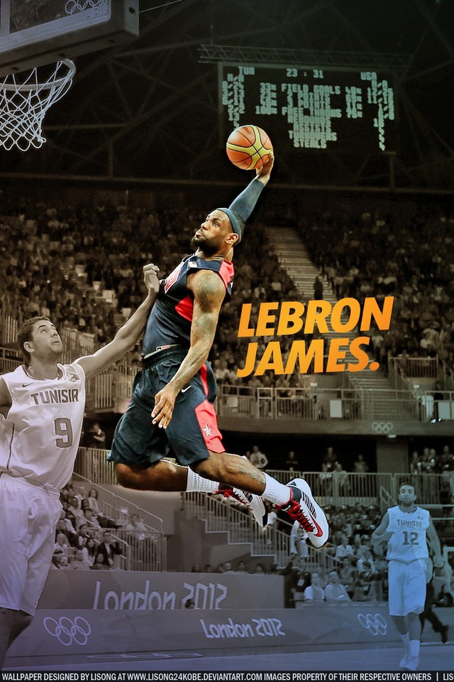 Nba Lebron James Dunk Basketball Player Wallpaper AllWallpaper
