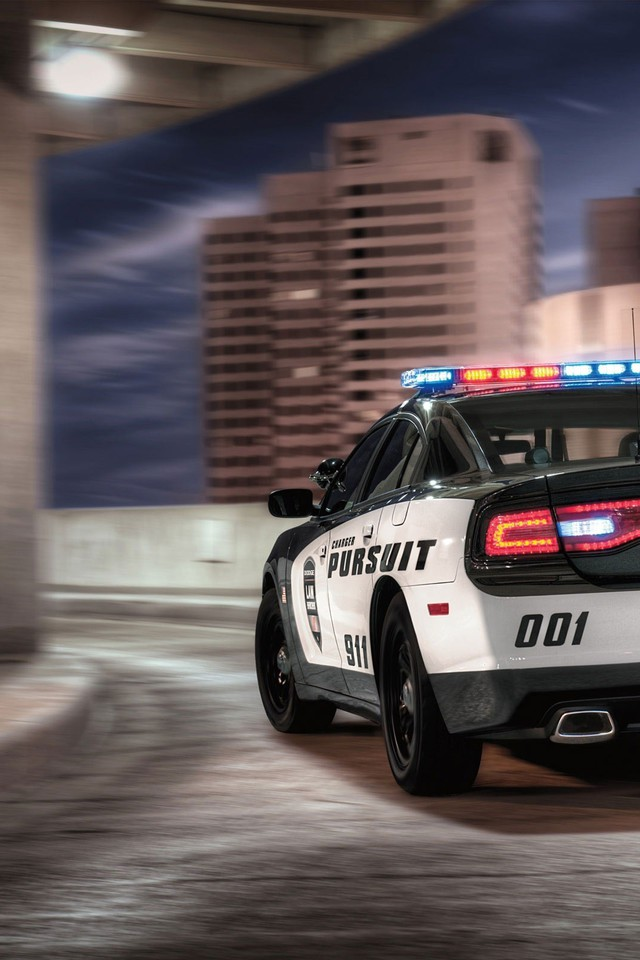 Police Cars Dodge Charger 2014 Cruiser Wallpaper