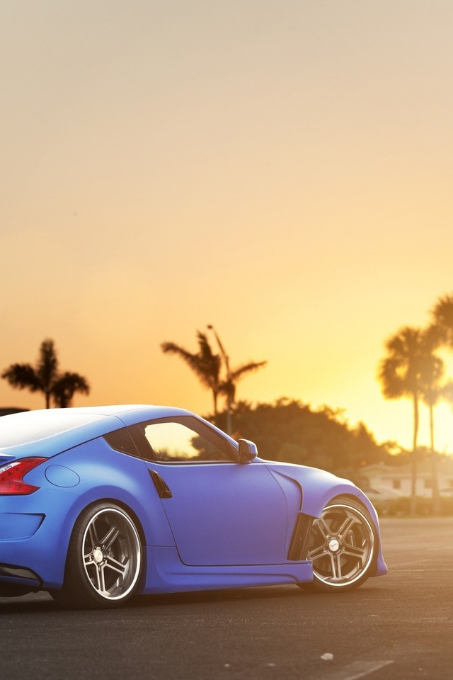 Sunset Blue Nissan 370z Wallpaper Allwallpaper 16490 Pc En