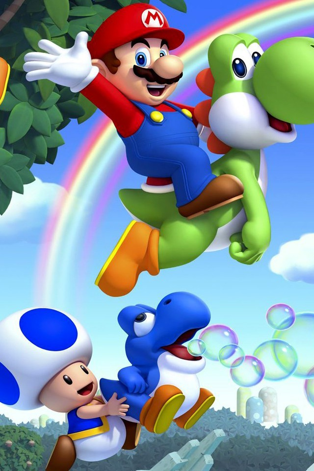 how to get new super mario bros on iphone