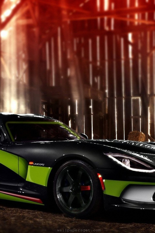 Viper Tuning Races Modified Speed Muscle Car Wallpaper