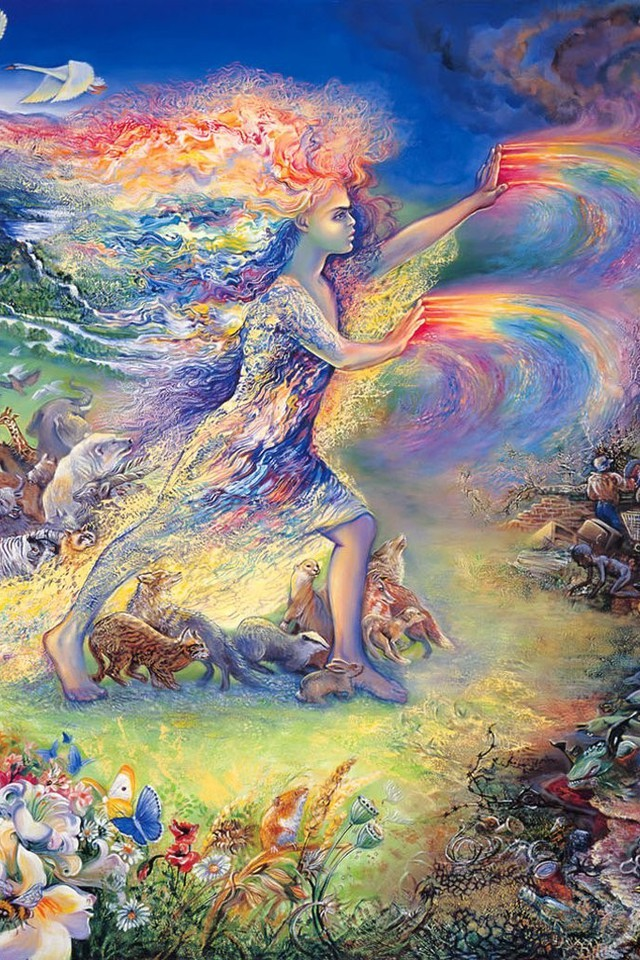 fantasy paintings art dreams josephine wall mystical