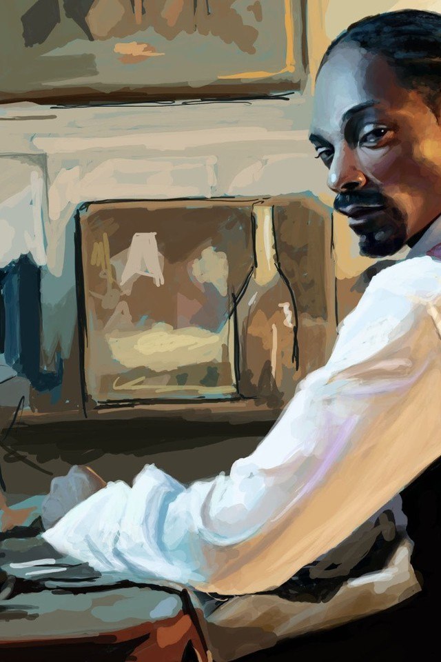 American Calvin Broadus Snoop Dogg Artwork Black People
